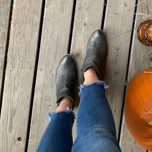 Lucky Brand Ankle Boots Silver in color